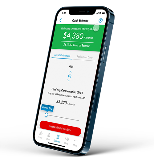 PensionX Mobile App Product Image